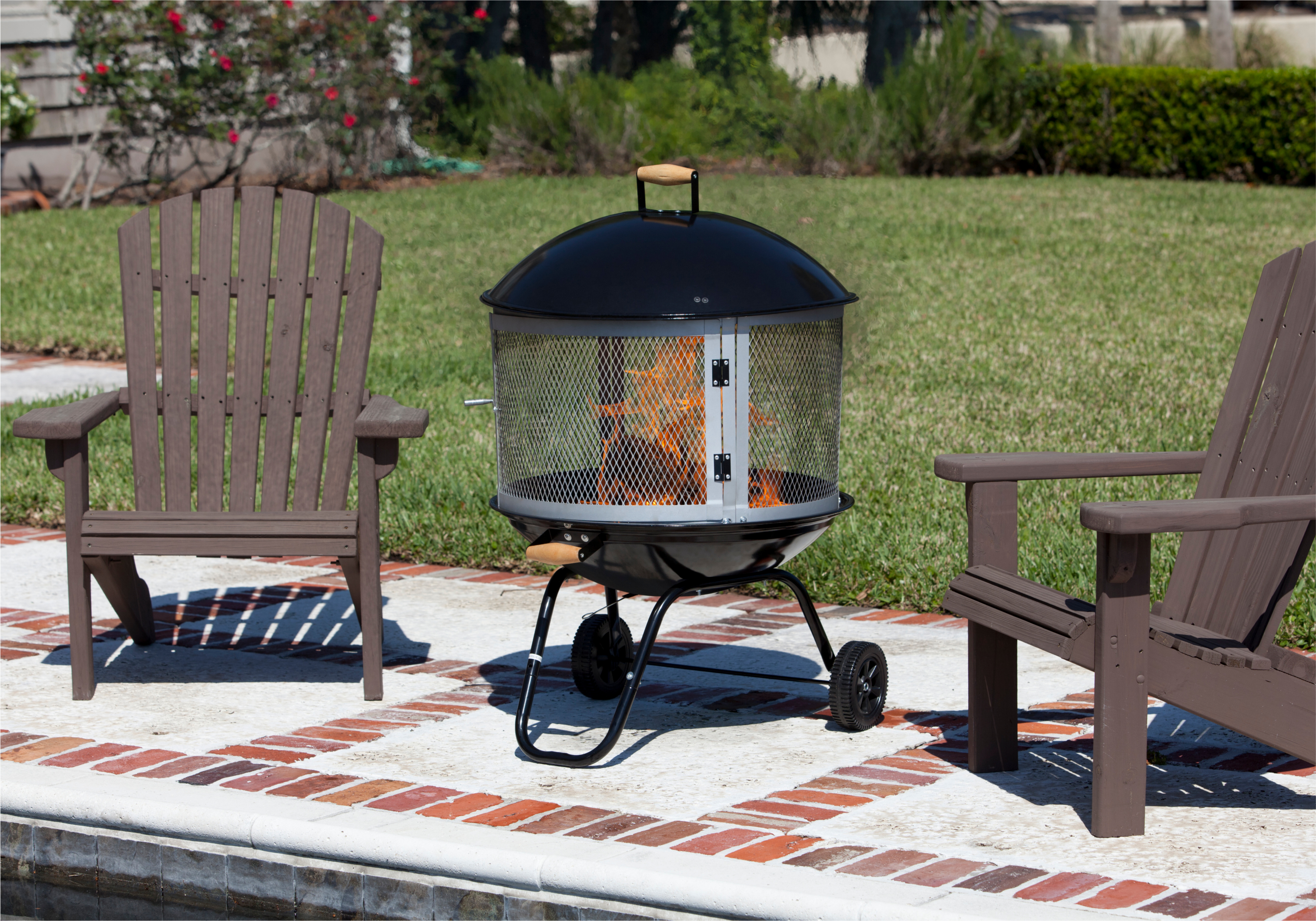 28 Bessemer Patio Fireplace Well Traveled Living