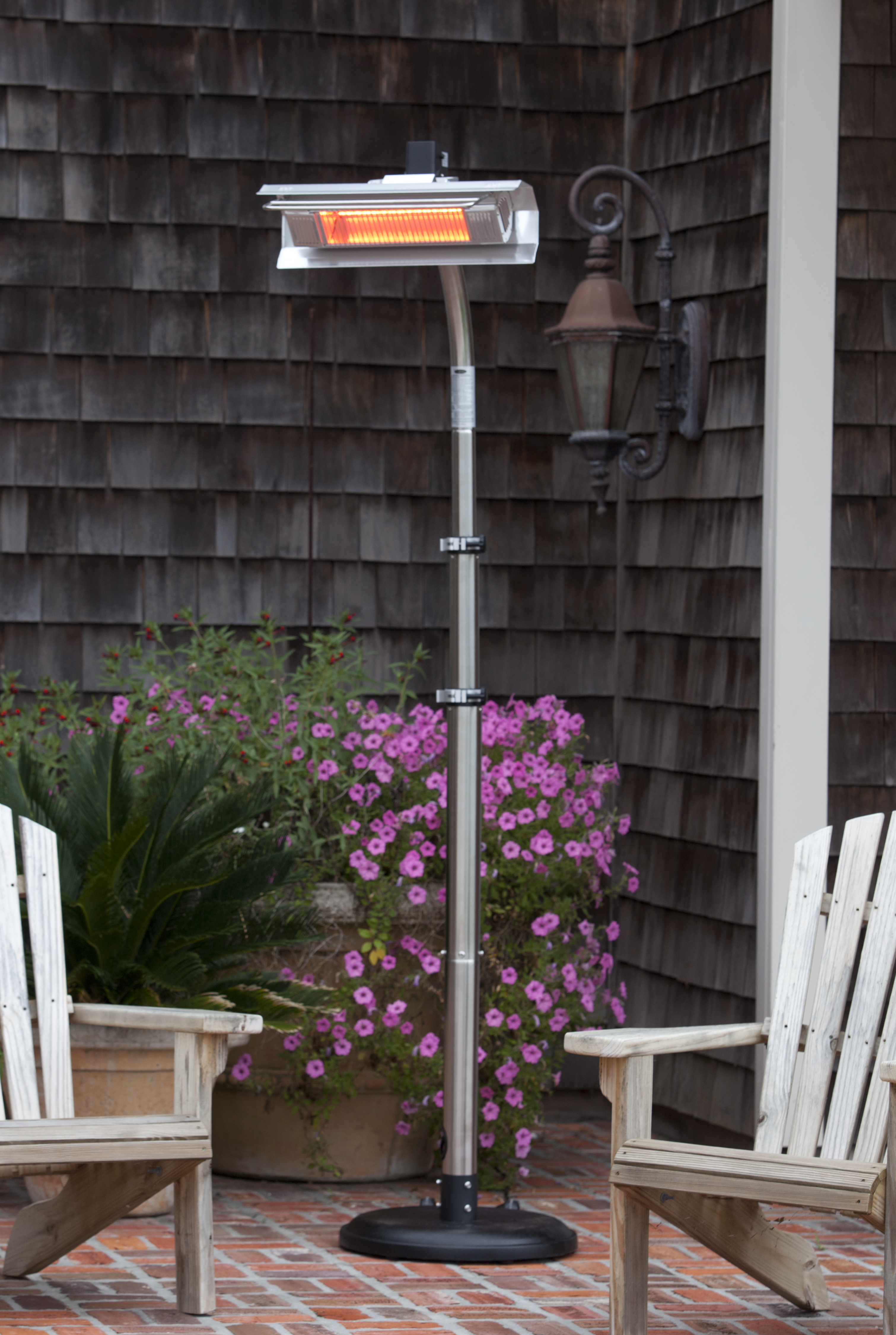 Stainless Steel Telescoping Offset Pole Mounted Infrared