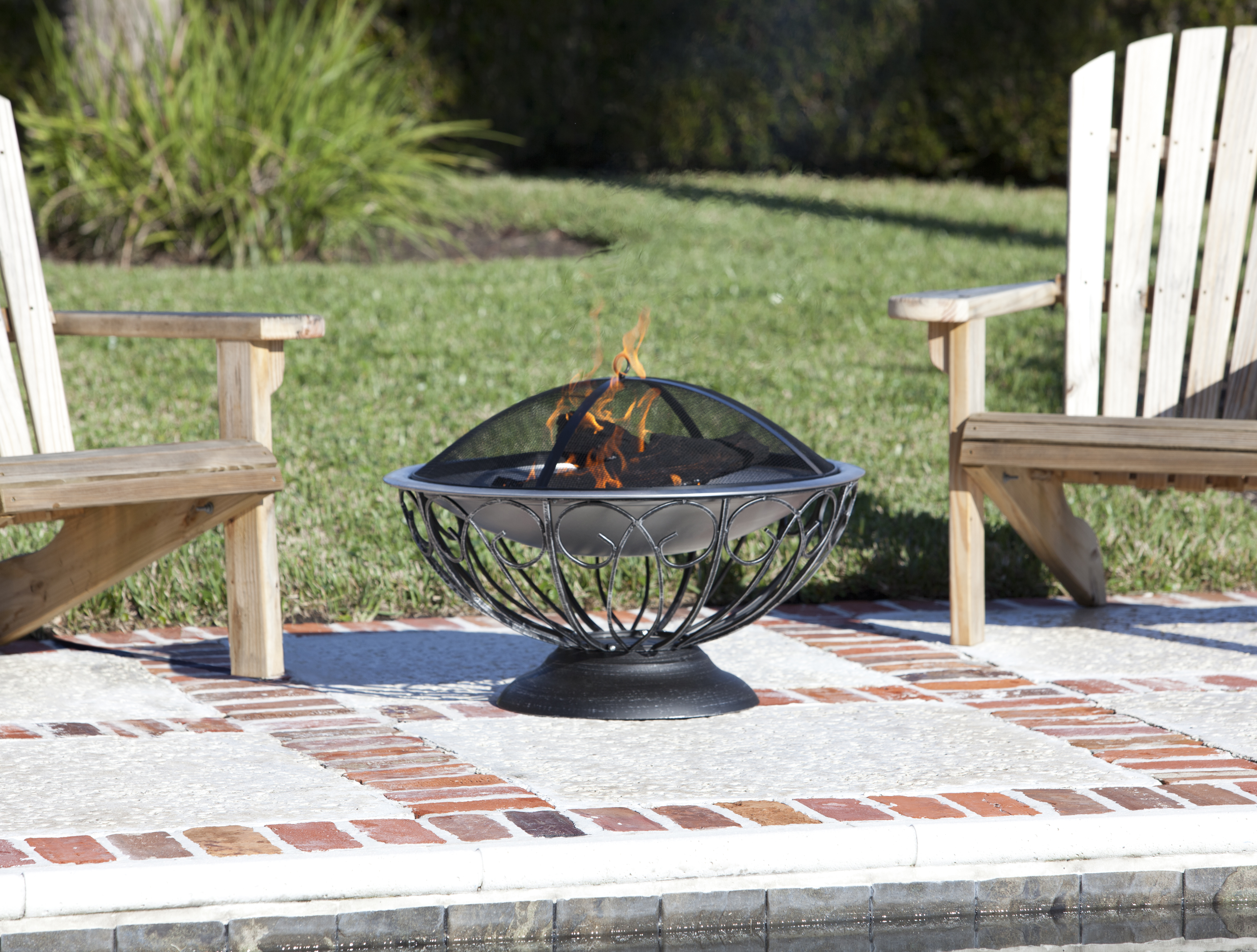 Stainless Steel Urn Fire Pit Well Traveled Living
