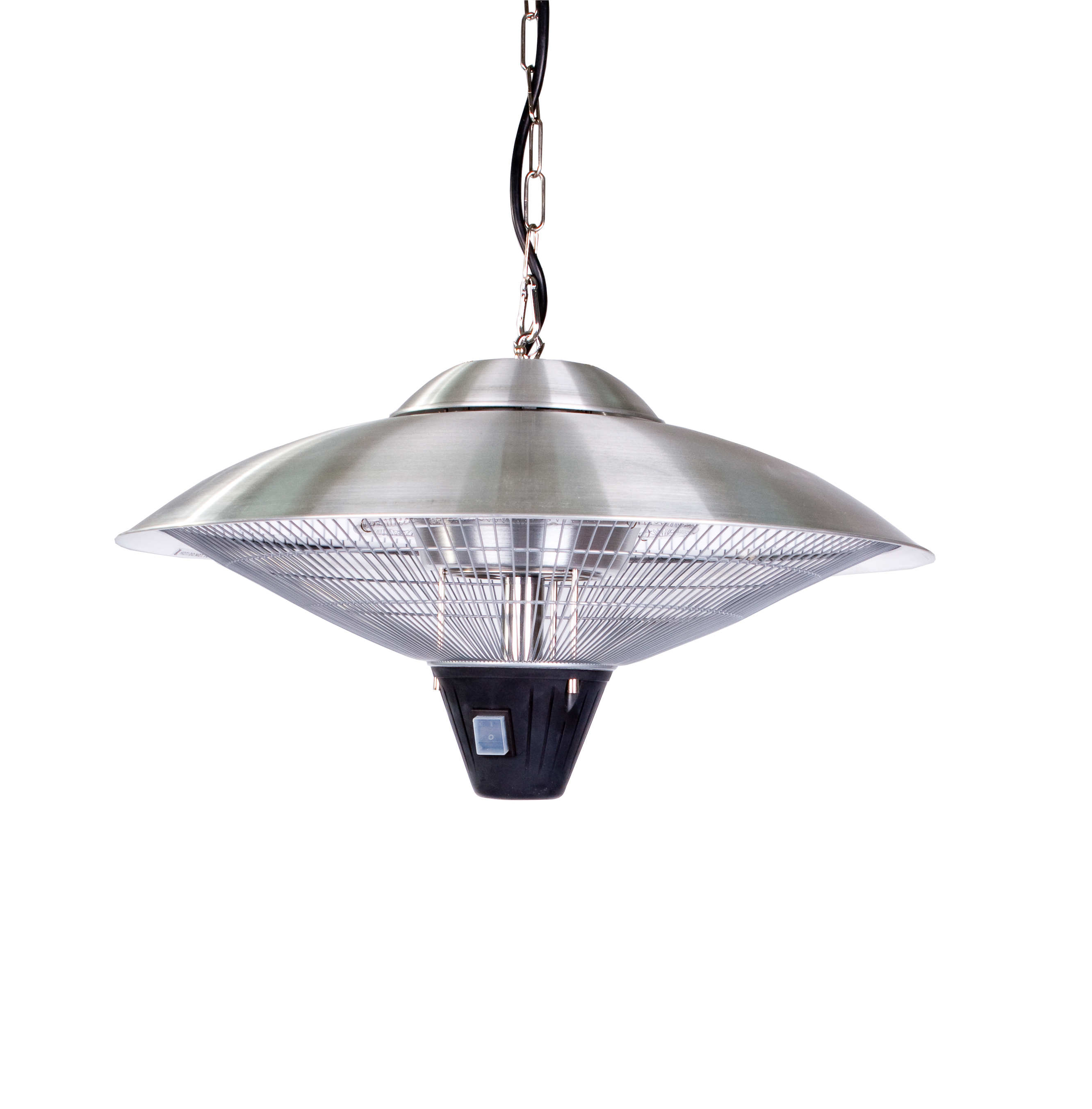 Stainless Steel Hanging Halogen Patio Heater Well