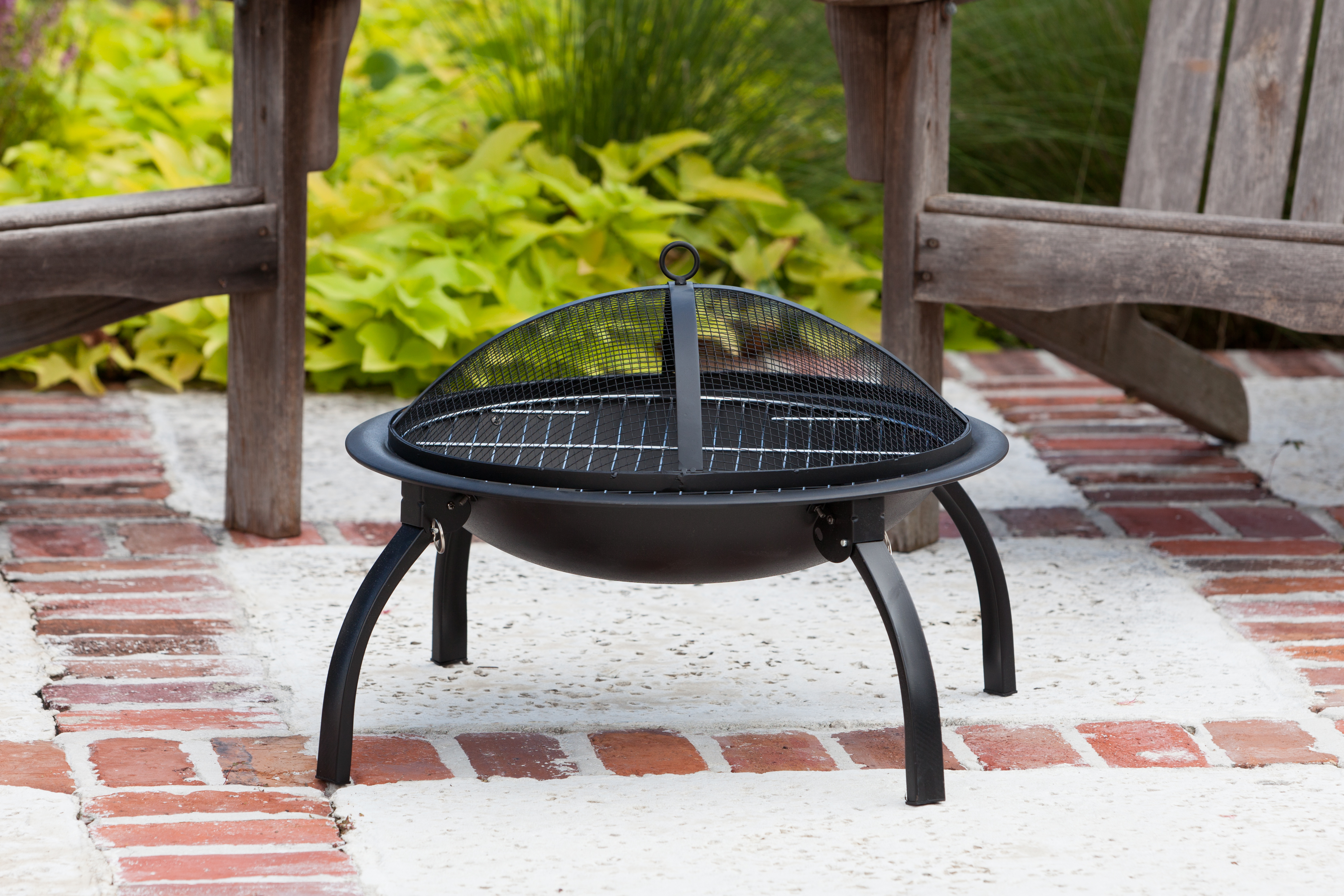 22 Quot Folding Fire Pit Well Traveled Living