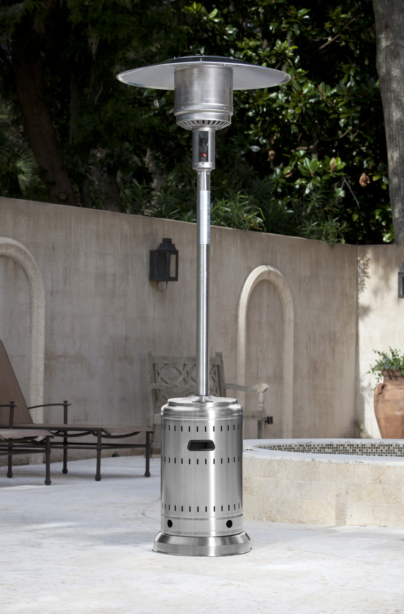 Stainless Steel Commercial Patio Heater   Costco.com Exclusive