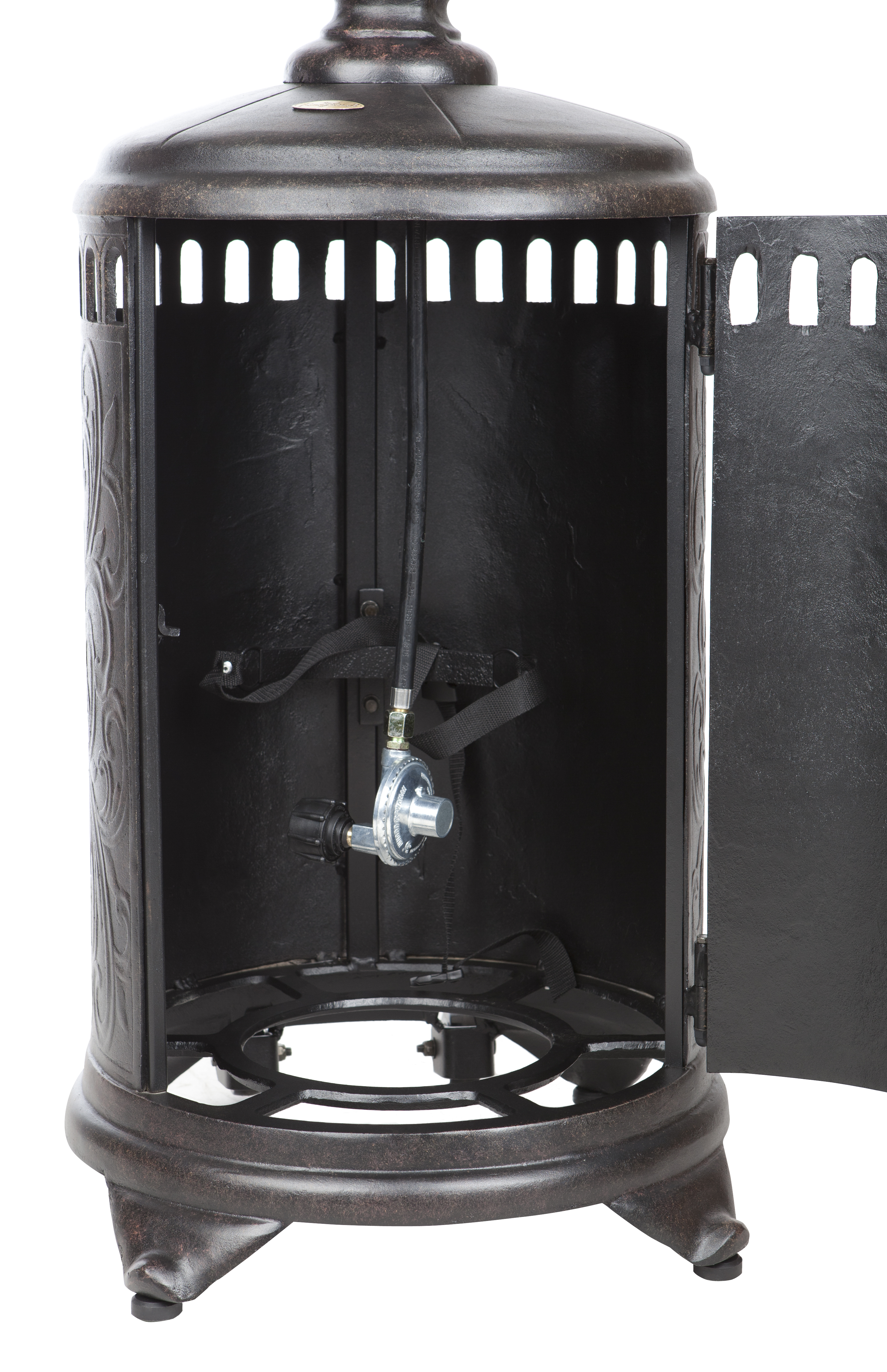 Sedona Cast Aluminum Propane Patio Heater Well Traveled