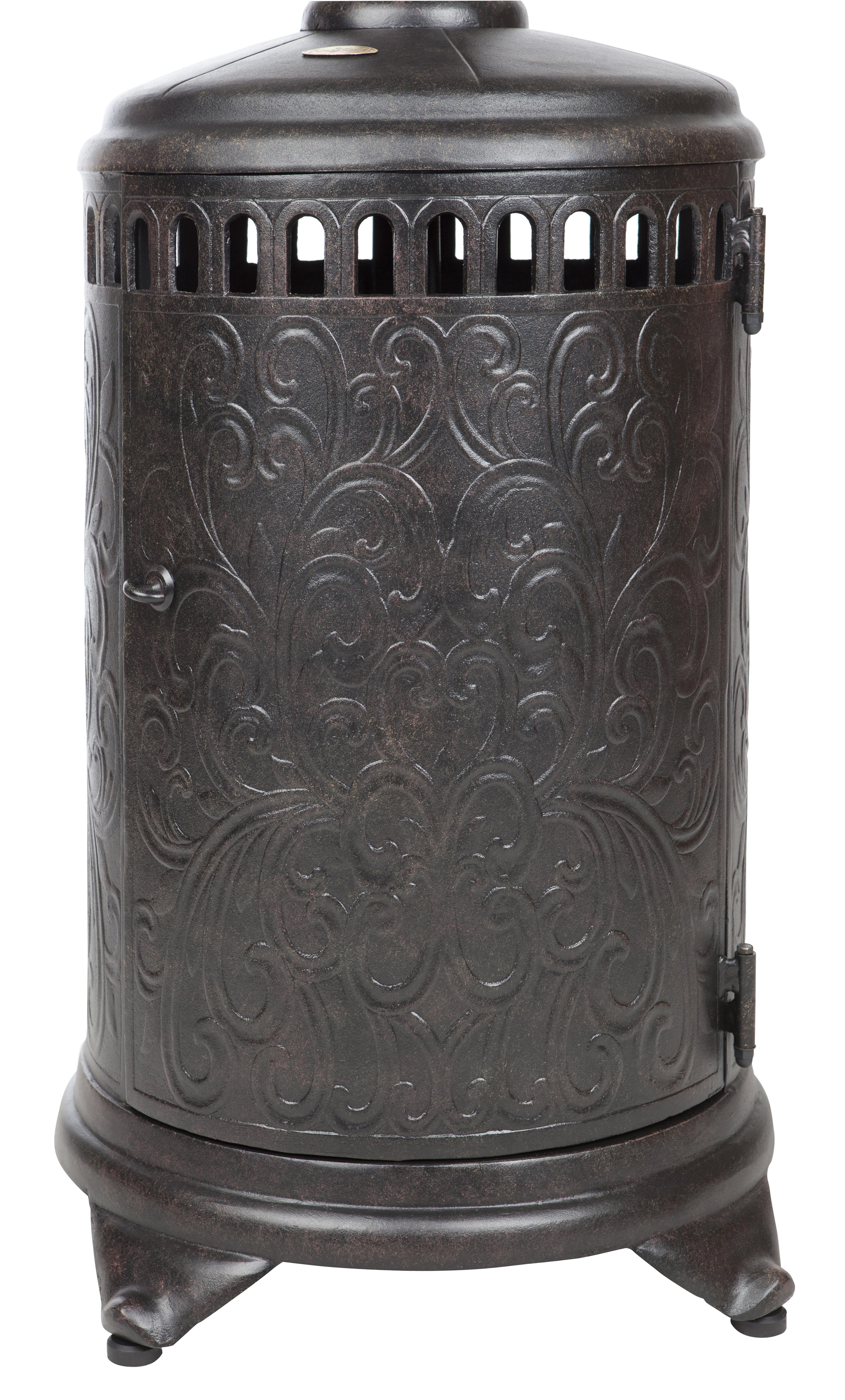 Sedona Cast Aluminum Propane Patio Heater Well Traveled