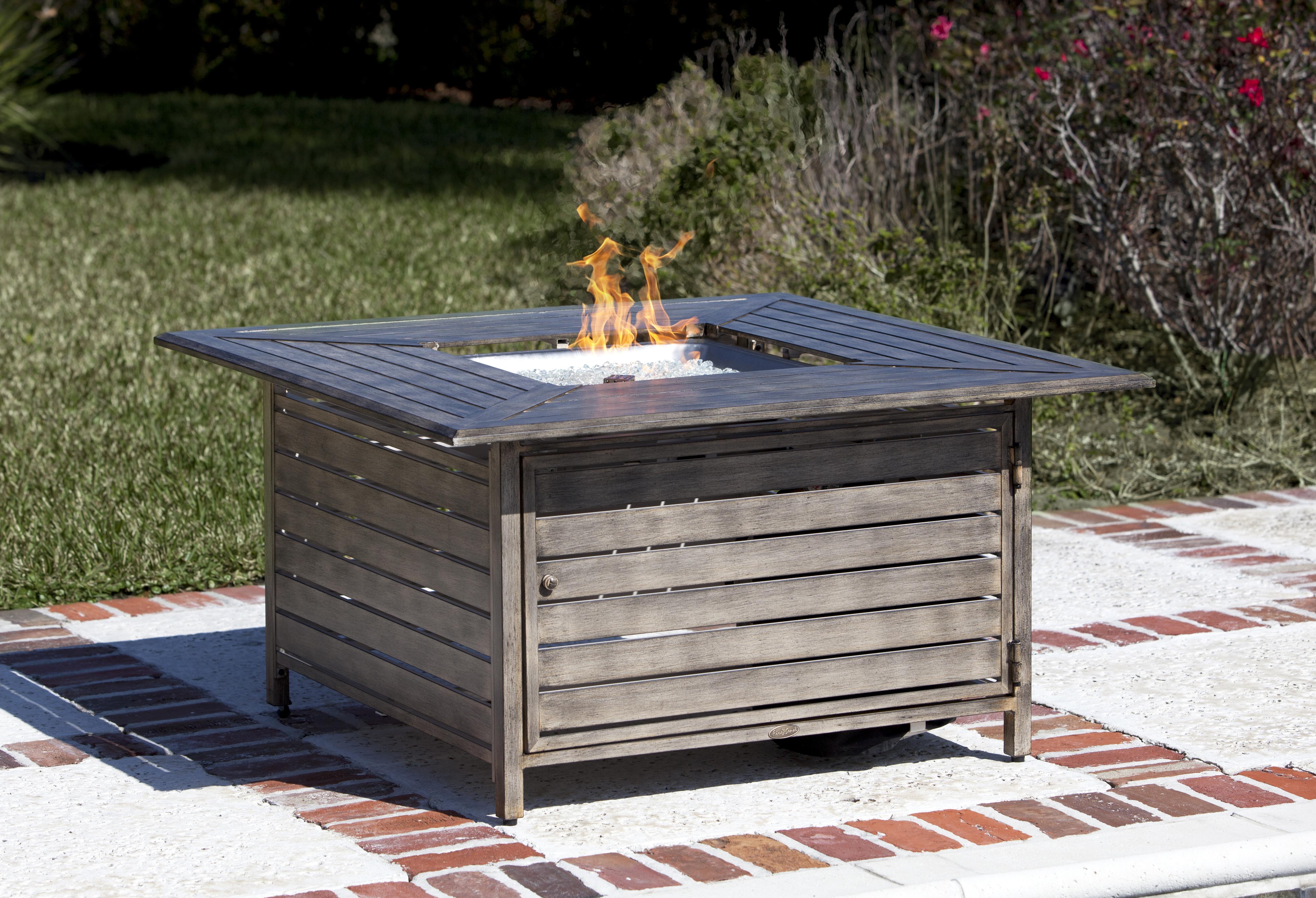 Madaket Extruded Aluminum Lpg Fire Pit Hayneedle Com