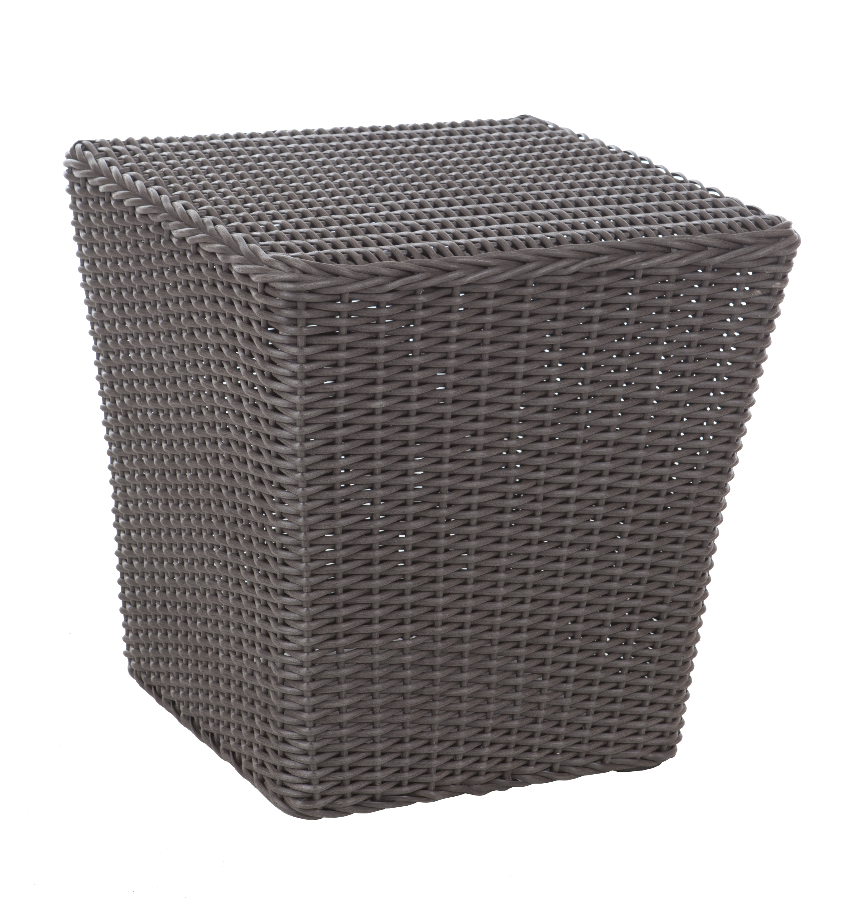 Bel Cubo Square Wicker Bistro Set Well Traveled Living