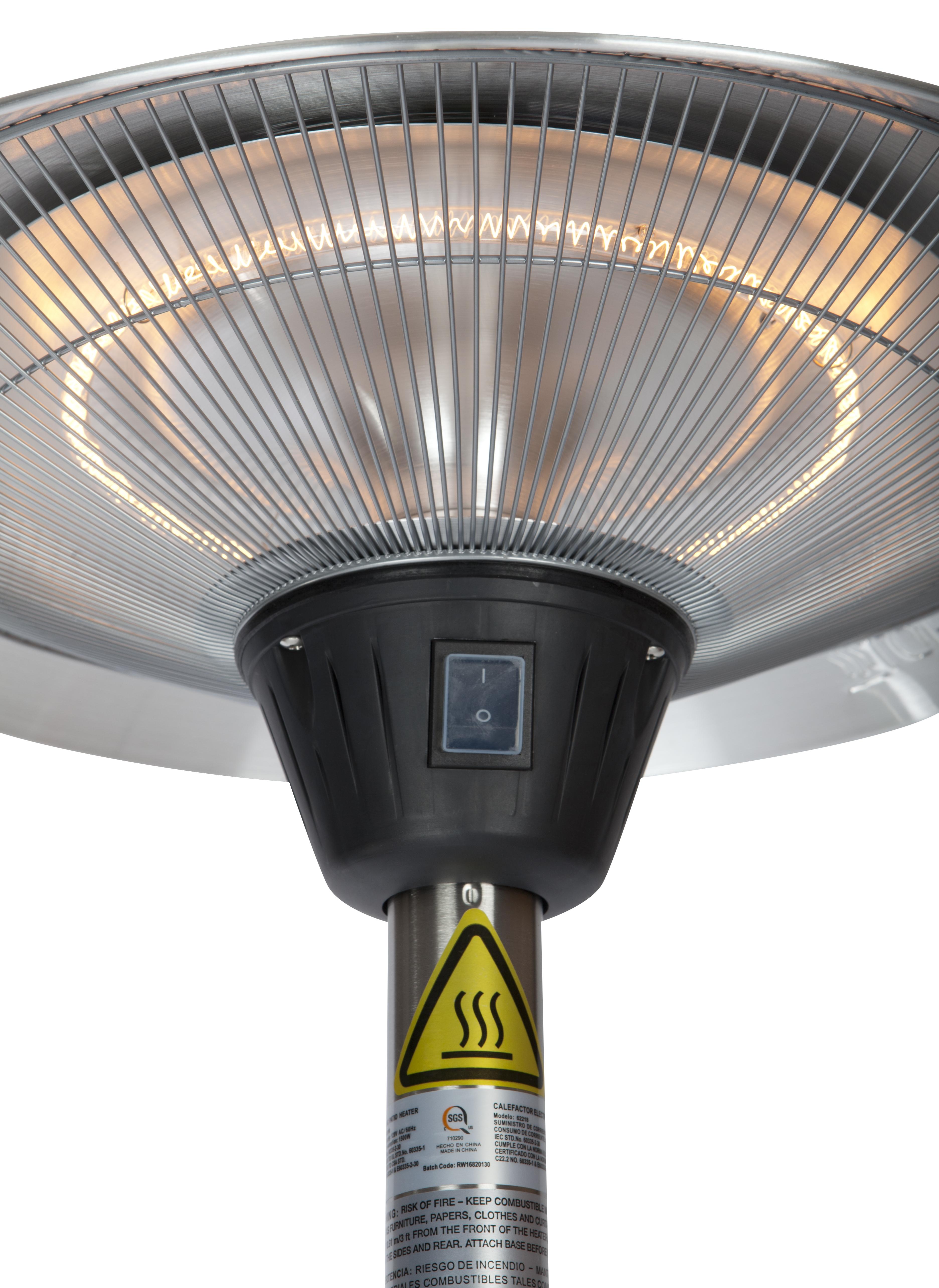 Frisco Stainless Steel Halogen Patio Heater Well