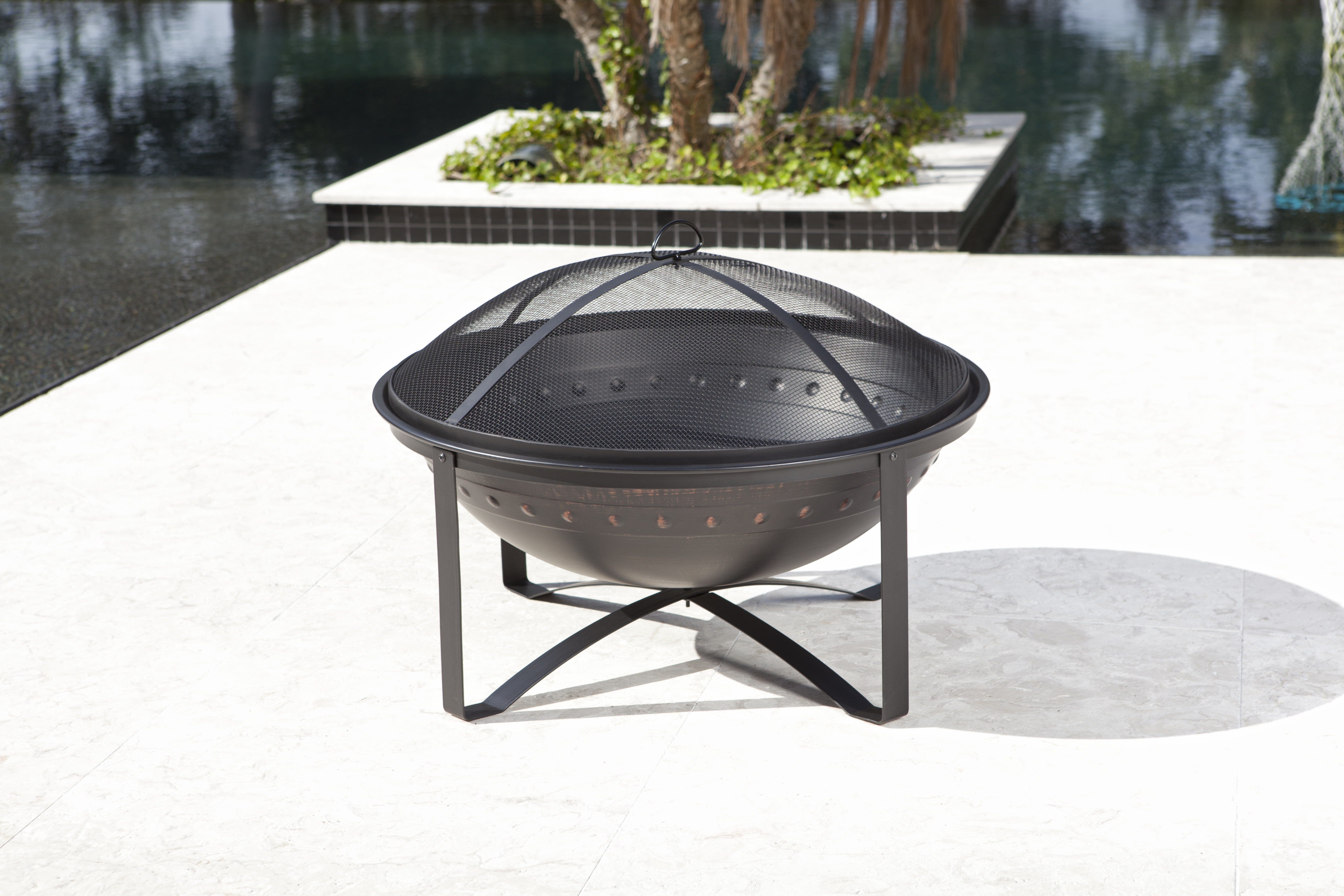 Highland Wood Burning Fire Pit Well Traveled Living