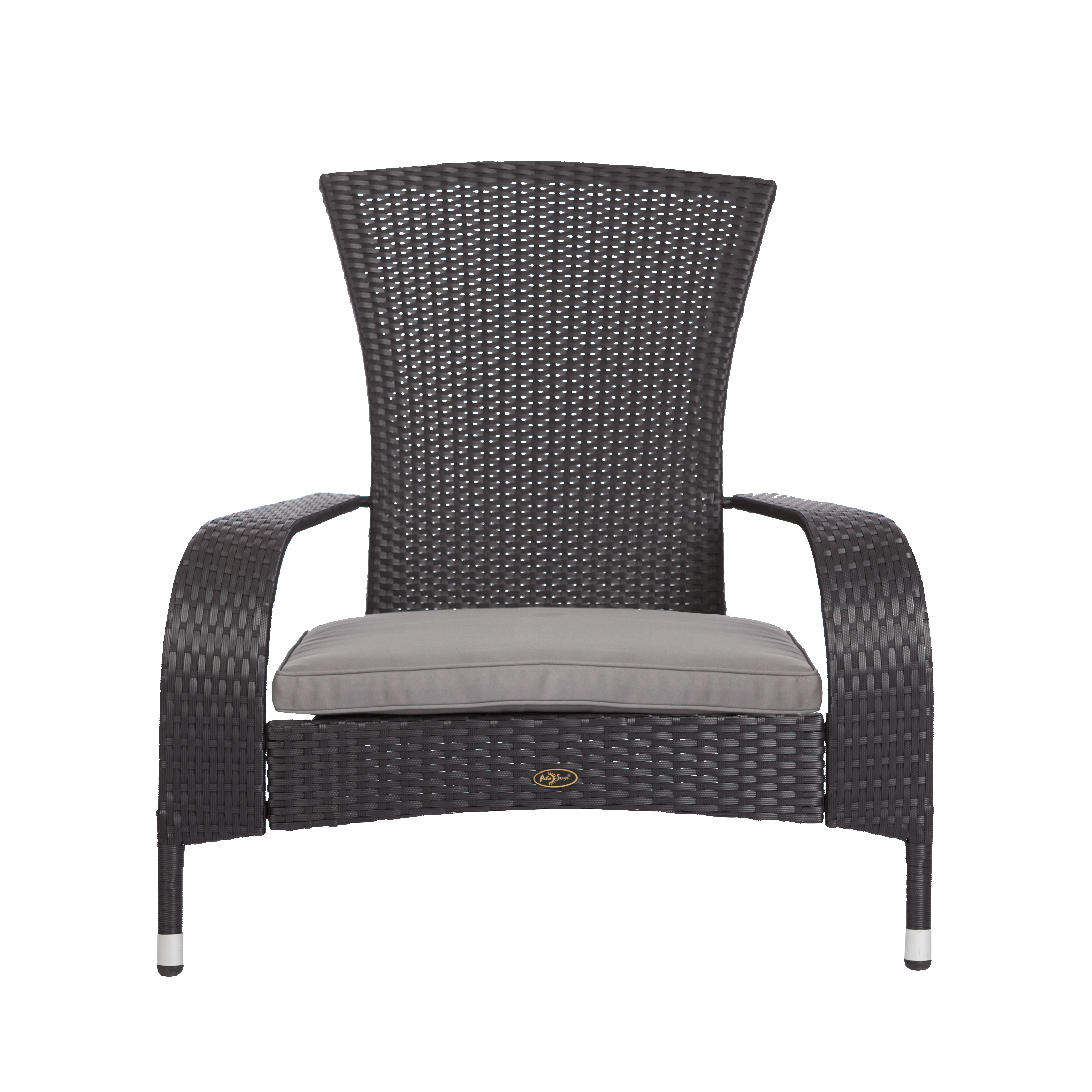 Black Coconino Wicker Chair Well Traveled Living
