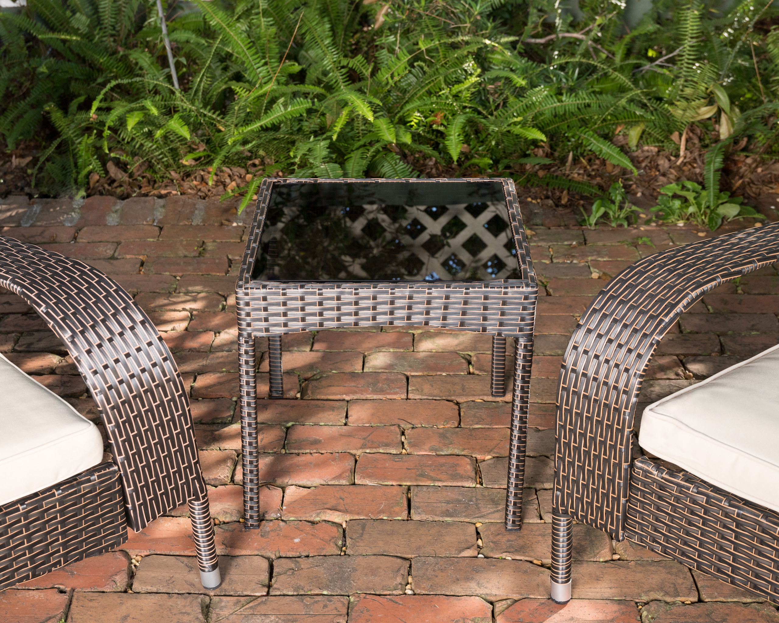 Coconino Wicker Chat Set Well Traveled Living