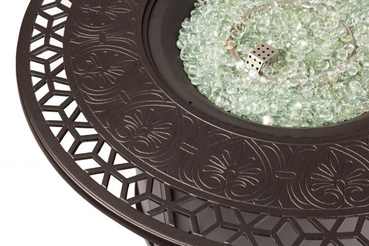 Longpoint Aluminum Round Lpg Fire Pit Well Traveled Living