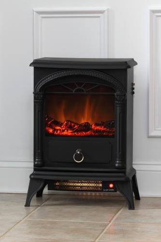 Vernon Electric Fireplace Stove Well Traveled Living